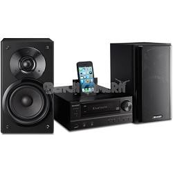 100W Bluetooth Audio Micro System CD/MP3/WMA/iPod/iPad/iPhone (Black) - XLHF202P
