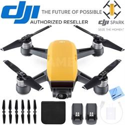 CP.PT.000732 SPARK Intelligent Portable Mini Drone Sunrise Yellow Battery Bundle