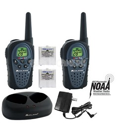 28 Channel/GMRS Radio with 121 Privacy Codes weather, Weather Scan w/batteries
