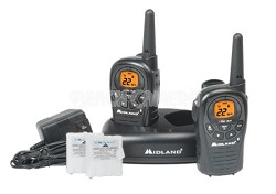 LXT380VP3 24-Mile 22-Channel FRS/GMRS Two-Way Radio (Pair)