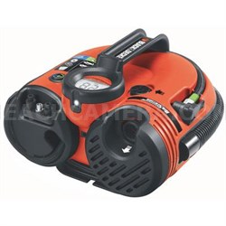 High Performance 12-Volt Cordless Air Station Inflator in Red - ASI500