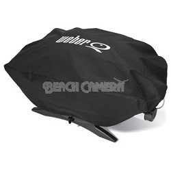 6550 Vinyl Cover for Weber Baby Q, Q-100 and Q-120 Grills - OPEN BOX