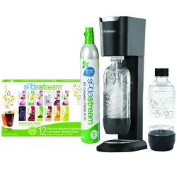 GENESIS Home Soda Maker Starter Kit - Silver/Black