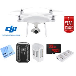 Phantom 4 Advanced Plus Quadcopter Drone Ultimate 2 Battery Bundle CP.PT.000698