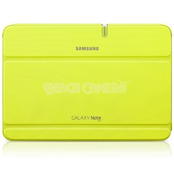 Galaxy Note 10.1 Book Cover - Mint Green/Yellow