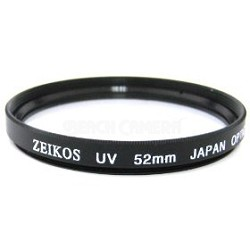 52mm Multicoated UV Protective Filter--offers lens protection & clearer pictures