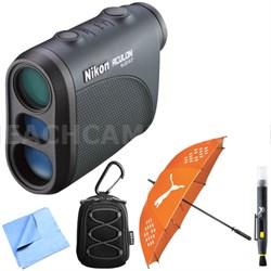 8397 Aculon Laser Rangefinder 550 Yards + Case + Cleaning Pen + Umbrella