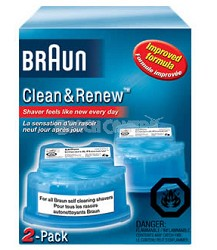 CCR2 SYNCRO Clean and Renew Shaver Refill - 2 pack