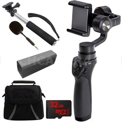 Osmo Mobile Gimbal Stabilizer for Smartphones w/ Professional Bundle