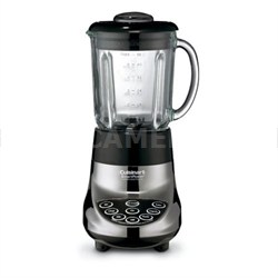 Smart Power 7 Speed Electric Blender, Black Chrome - Factory Refurbished