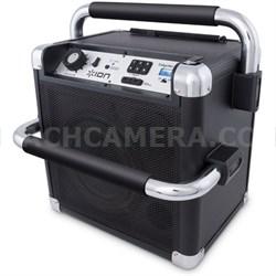 Job Rocker Heavy-Duty Wireless Bluetooth Sound System - Black - ***AS IS***