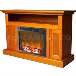 47.2 x15.7 x30.7  Sorrento Fireplace Mantel with Insert