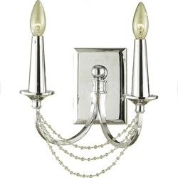 Shelby 2-Light Sconce in Chrome - 7703-2W