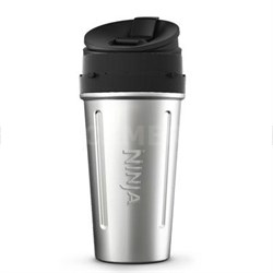 24 oz. Stainless Steel Nutri Ninja Cup with Sip and Seal Lid - XSKDWSS24