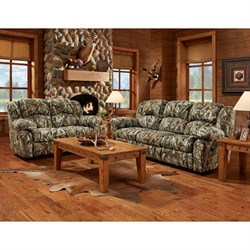 Camo 2pc Living Set: Sofa Loveseat