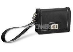 Fashion Clutch Leatherette Case (Black)