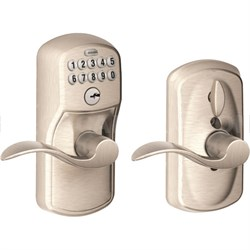Keypad Lever - Accent Lever, Plymouth Trim, Nickel FE595 Ply 619/Acc