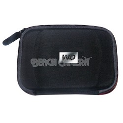 Hard Carring Case for My Passport Portable Drives Black/Red WDBABJ0000NBK-NRSN