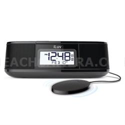 Timeshaker Micro Dual Alarm Shaker w/ Wireless Bluetooth - Black TSMICROULBK