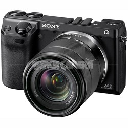NEX7K/B - NEX-7 24.3 MP Camera with 18-55mm lens (Black) - OPEN BOX