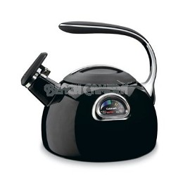 PerfecTemp Porcelain Enameled Teakettle - Black