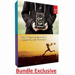 Photoshop Elements and Premiere Elements 11 -MAC/ PC (bundle package)