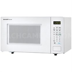1.4 Cu.Ft. 1000W Carousel Countertop Microwave Oven in White - SMC1441CW