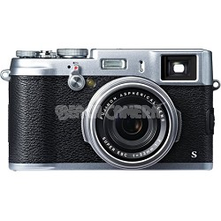 X100S 16MP Full HD 1080p Video Digital Camera - Silver