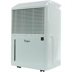 Energy Star 50-Pint Portable Room Dehumidifier in White - WHAD501AW