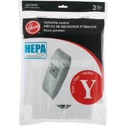 AH10040 Pleated HEPA Y Bag