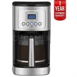 14-Cup Programmable Coffeemaker S.Steel + 1 Year Extended Warranty