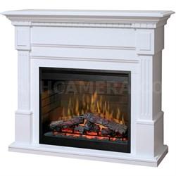 Essex Electric Fireplace - Mantel, White - GDS30L3-1086W