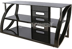"AVS-4601HG - Flat Panel TV Stand in High Gloss Black (for most TVs up to 52"")"