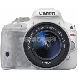 EOS Rebel SL1 Digital SLR with EF-S 18-55mm IS STM Lens - White