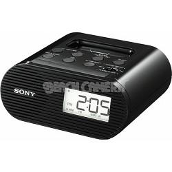ICF-C05IP Black Clock Radio for iPod - OPEN BOX