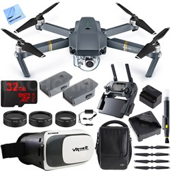 Mavic Pro Quadcopter Drone w/ Camera & Wi-Fi + Virtual Reality Experience Bundle