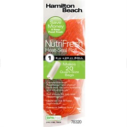 NutriFresh Heat Seal Roll 8in x 20ft - 78320