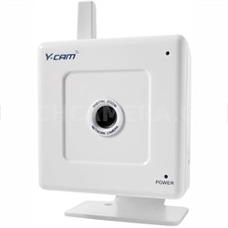 YCW004 - S White Wi-Fi Internet Surveillance IP Camera iPhone (White) - OPEN BOX