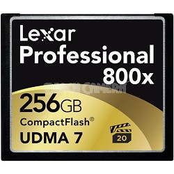 256 GB Professional 800x Compact Flash - LCF256CRBNA800