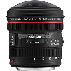 EF 8-15mm f/4L Fisheye USM Ultra-Wide Zoom Lens for Canon EOS SLR Cameras