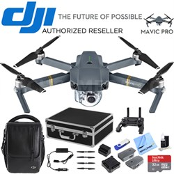 Mavic Pro Fly More Combo Expedition Kit (CP.PT.000642) with 3 Battery Bundle