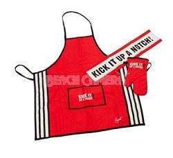 3 Piece Chef Set - Apron, Oven Mitt, Towel