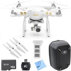 Phantom 3 4K  Quadcopter Drone w/4K Camera Mobile Command Kit  W/ Spare Battery