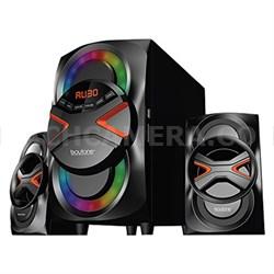 Wireless Bluetooth Audio Powerful Bass Speaker System - BT-326F