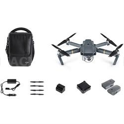 Mavic Pro 4K Camera Quadcopter Drone Combo Pack/2 Extra Batteries - OPEN BOX
