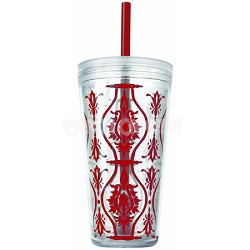 24-Ounce Minimus Damask Tumbler, Red (2510-0260)