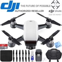 Spark Alpine White Quadcopter Drone 32GB Essentials Bundle