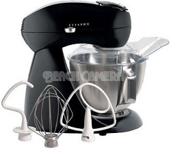 Electrics All-Metal Stand Mixer - Licorice (black)