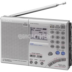 ICF-SW7600GR FM Stereo Multi-Band World Band Receiver Radio- OPEN BOX