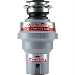 Legend Series 1/3 HP Continuous Feed Garbage Disposal with Power Cord - 9910